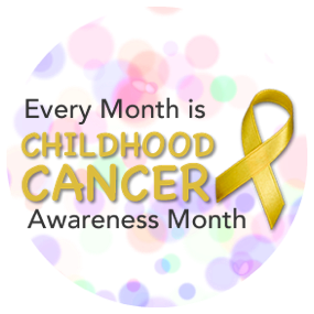 Every month is childhood cancer awareness month